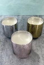 Falala 4.5oz Glass Tinsel Candle