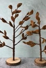Large Brown Felt Autumn Tree