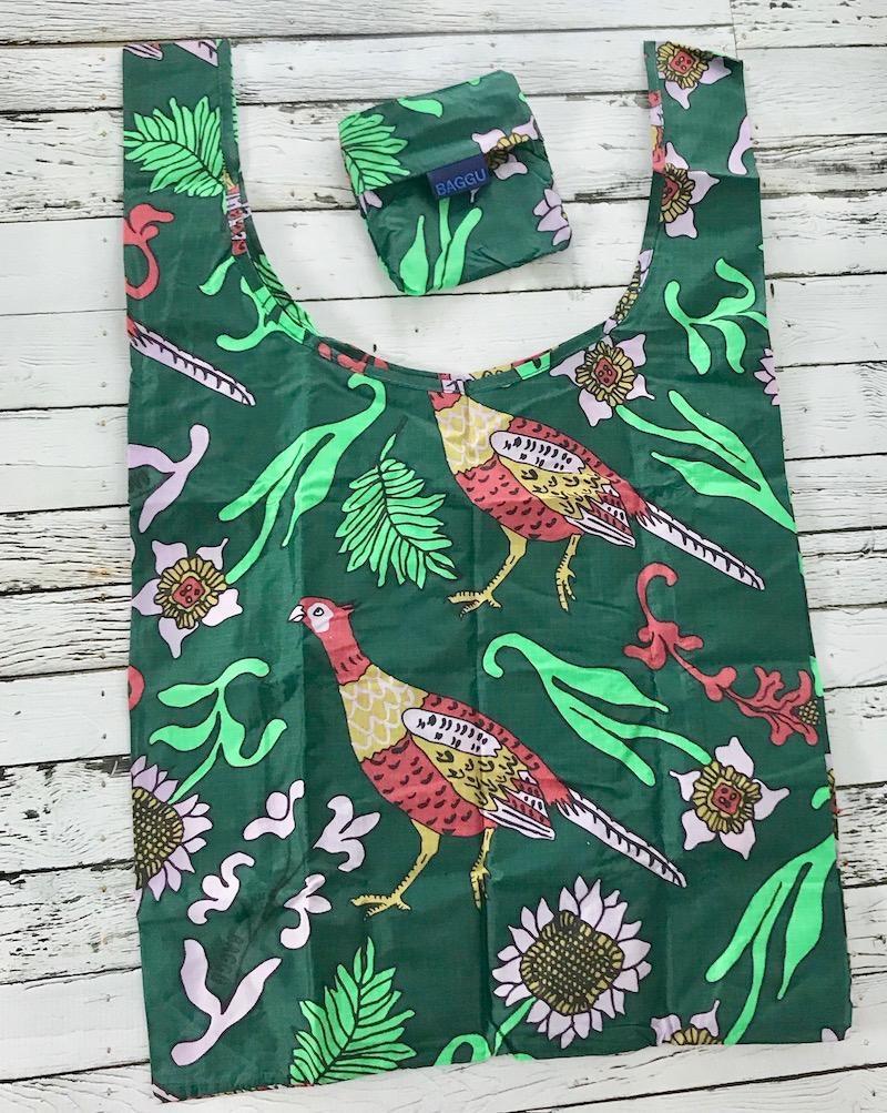 Green Pheasant Standard Baggu