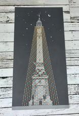 "Circle of Lights 12 x 24"" Print by Lars Lawson"