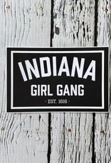 Indiana Girl Gang Sticker