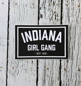 Indiana Girl Gang Sticker