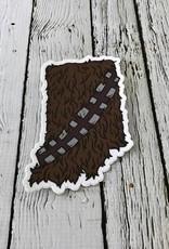 Indiana Wookie Sticker