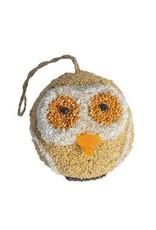 Owl Bird Seed Ornament