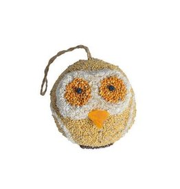 Owl Bird Seed Ornament