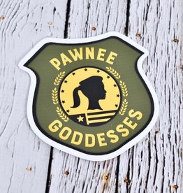 Pawnee Goddess Sticker