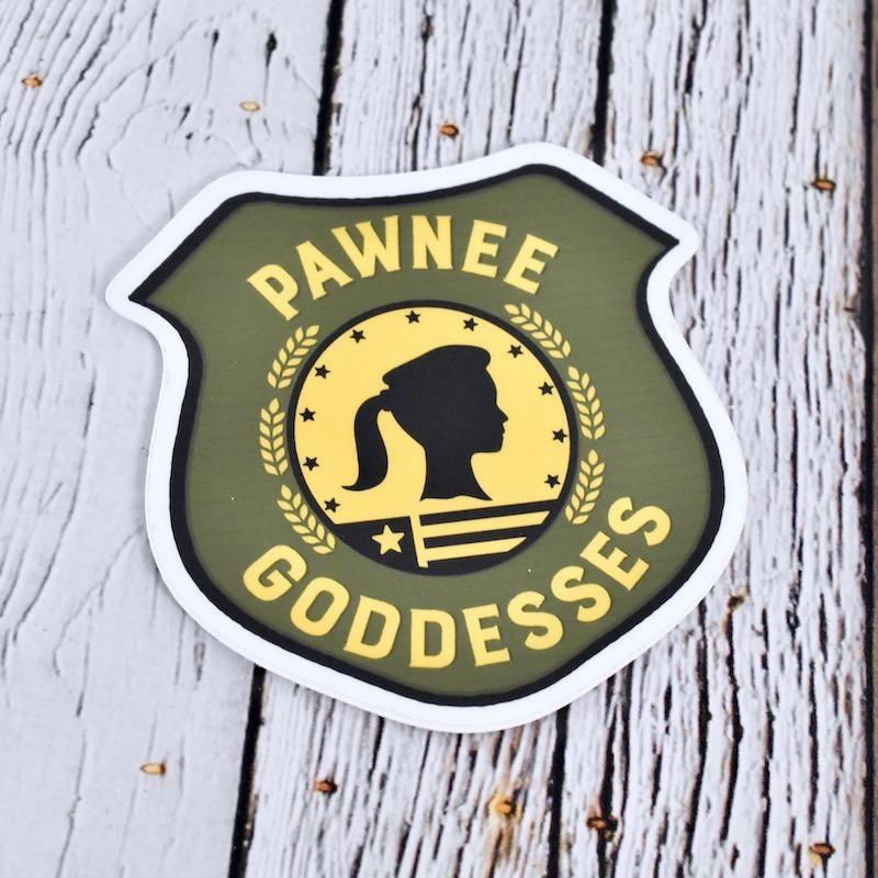 Pawnee Goddess Sticker
