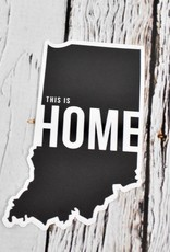 Indiana This Is Home Sticker