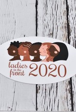 Ladies to the Front Sticker