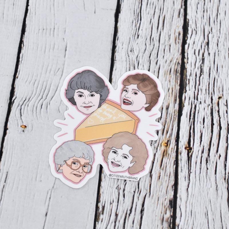 Golden Girls Sticker