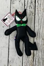 Bendable Jólakötturinn (aka The Christmas Cat) Ornament