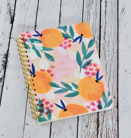 Oh, Happy Day Spiral Bound Notebook