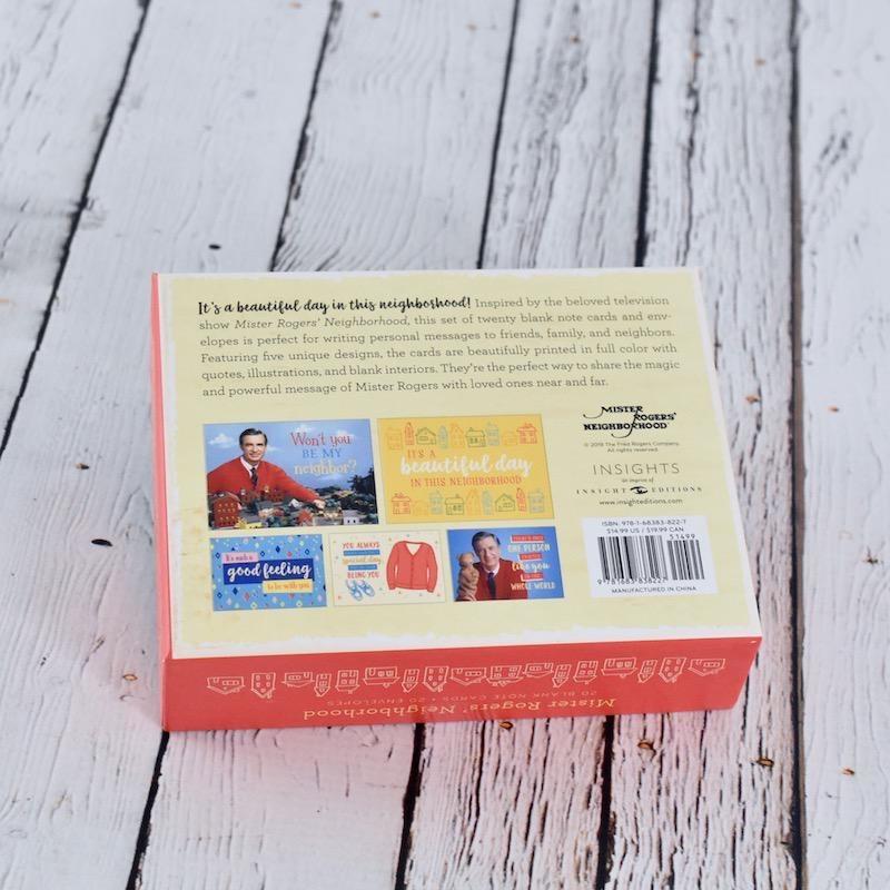 Mister Rogers' Neighborhood Boxed Notecards