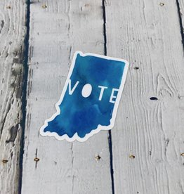 Vote Indiana Sticker