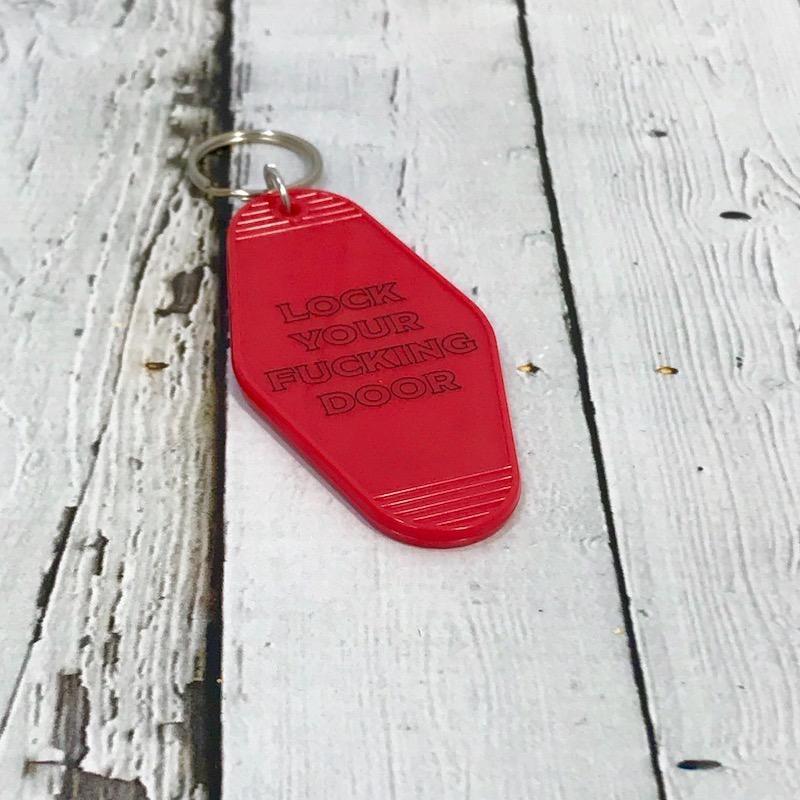 Lock Door Keychain
