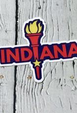 Enlightened Indiana Sticker