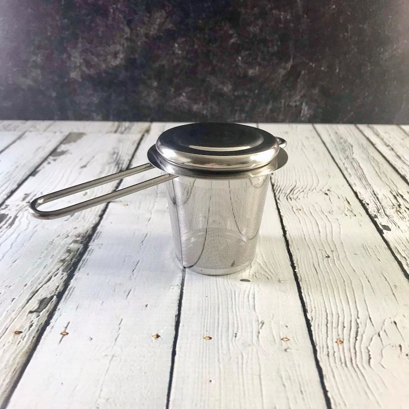Silver Stainless Steel Tea Infuser