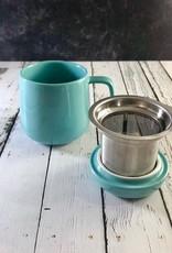 Turquoise 13.5oz Mug with Infuser
