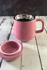 Pink 13.5oz Mug with Infuser