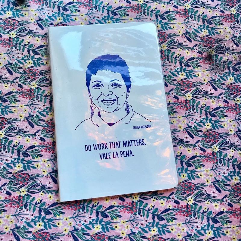 Gloria Anzaldúa Notebook