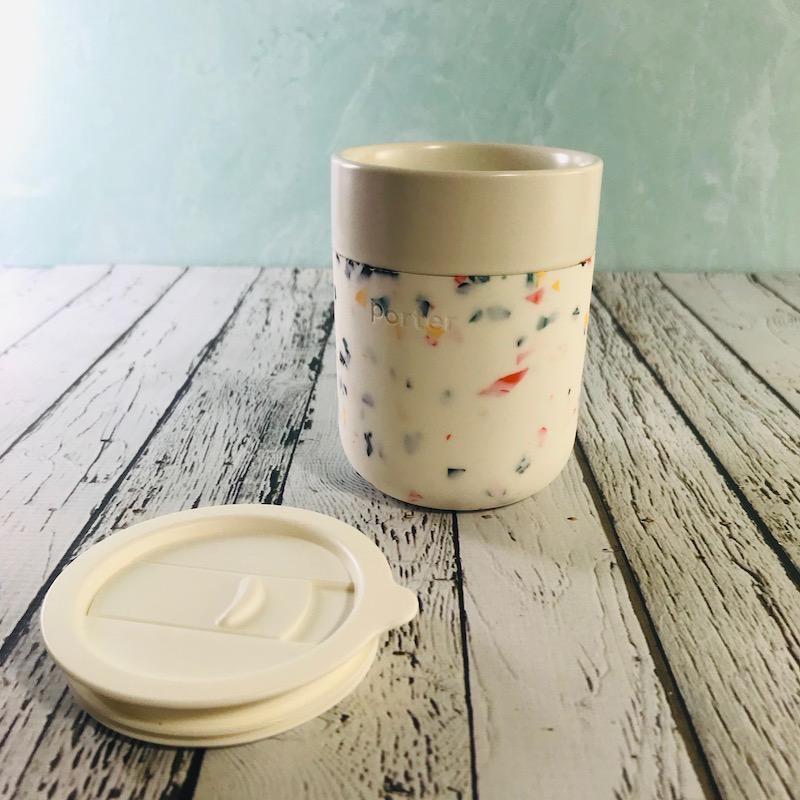 Cream Terrazzo Porter Mug