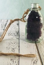 """4"""" Glass Hanging Bottle with Jute"""