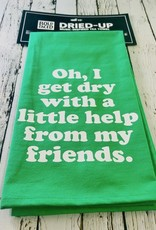 Dry With Friends Tea Towel