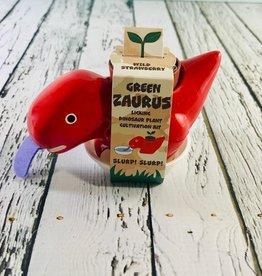 Red Strawberry Green Zaurus