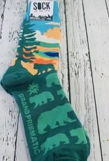 Grand Prismatic Men's Crew Socks