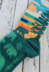 Grand Prismatic Women's Crew Socks