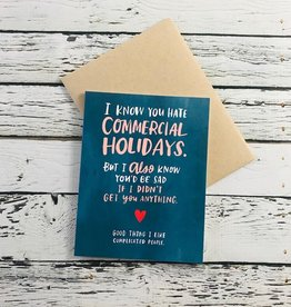 Commercial Holiday Card