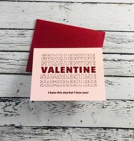 Valentine Shmalentine Card