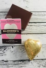 Marshmallow Caramel Milk Chocolate Heart