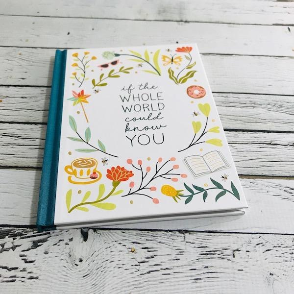 If the Whole World Could Know You Gift Book