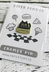Chonkers Enamel Pin