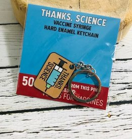 Thanks, Science Keychain