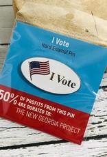 I Vote Pin