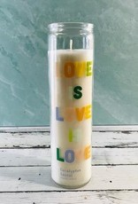 Eucalyptus Santal Love is Love 10.6oz Candle