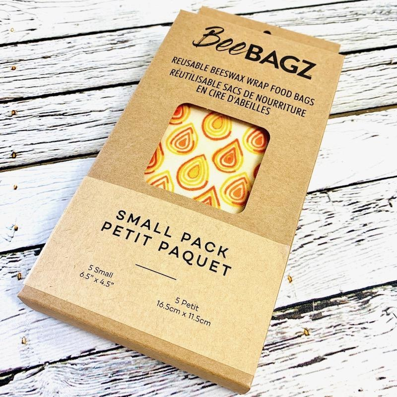Beeswax Wrap 5 Small Bag Pack