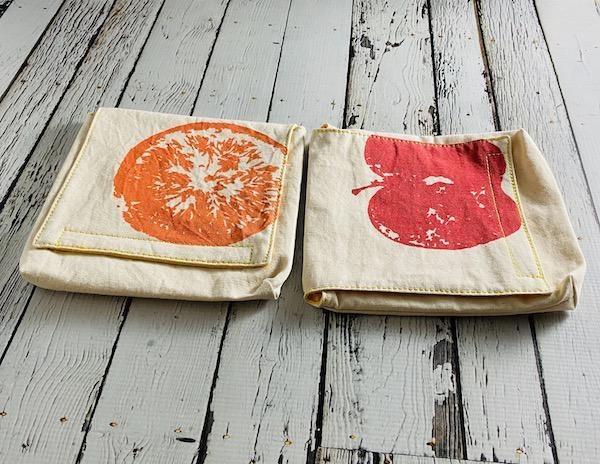 Apples & Oranges Snack Pack Set of 2