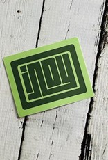 Green Indy Stickers