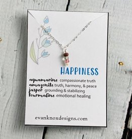 Happiness Gemstone Necklace