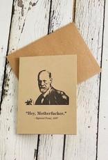 Freud Motherfucker Card