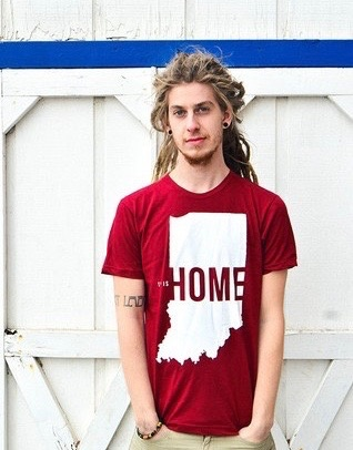This is Home Red Tee