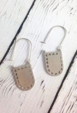 Silver Portal Earrings by Molly M. Designs