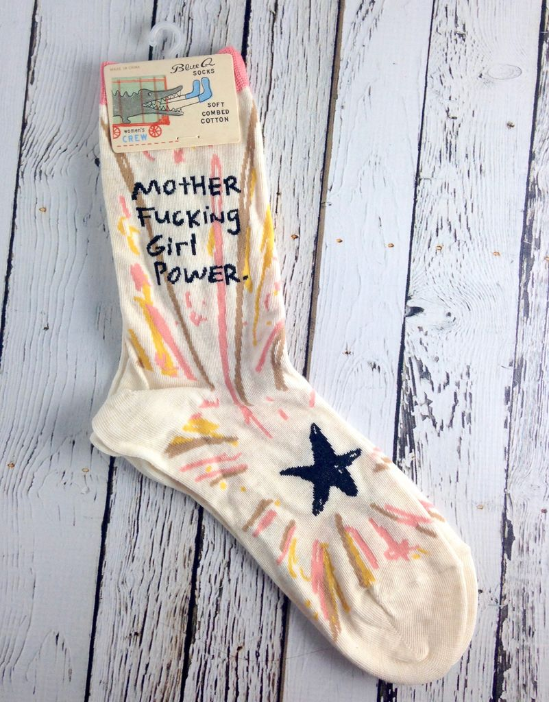MFing Girl Power Socks