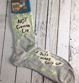 Not Gonna Lie Men's Crew Socks