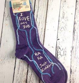 I love My Job Socks