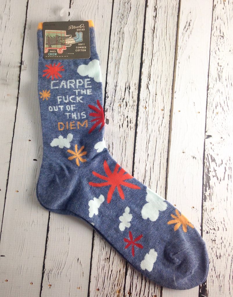 Men's Carpe Diem Socks