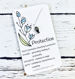 Protection Gemstone Necklace